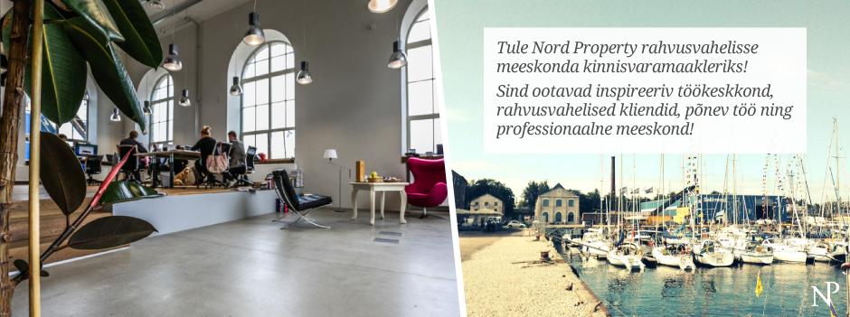Tule Nord Property kinnisvarabüroosse kinnisvaramaakleriks