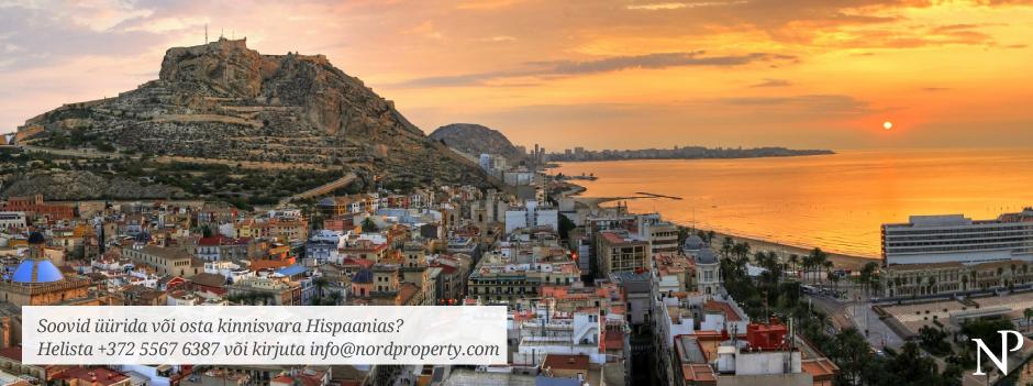 Kinnisvara Hispaanias - Võta ühendust - EST