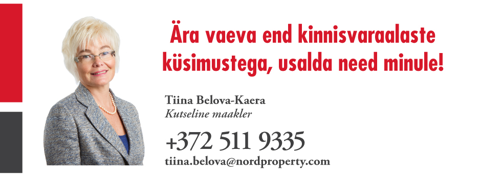 Tiina belova reklaam