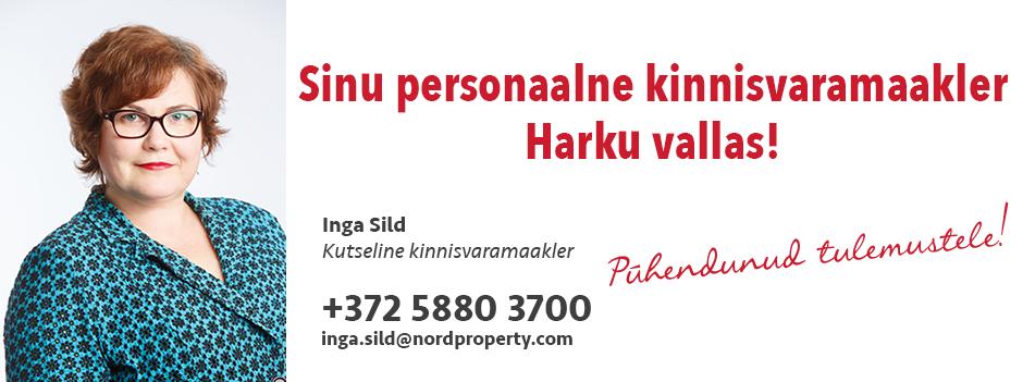 Inga Sild Nord Property kinnisvarabüroo